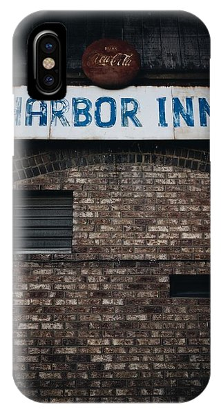 Chris Walter iPhone Case - Harbor Inn by Chris Walter
