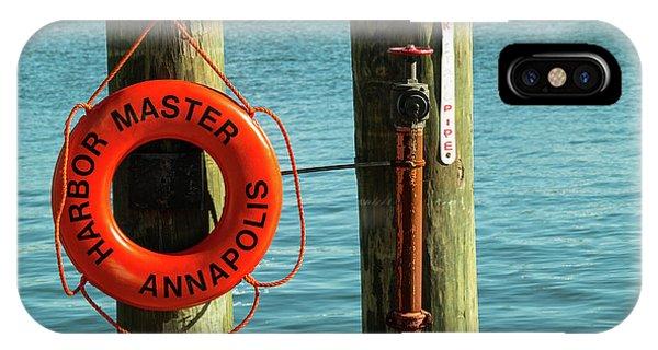 Harbor Life Preserver IPhone Case