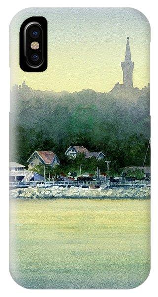 Harbor Master, Port Washington IPhone Case