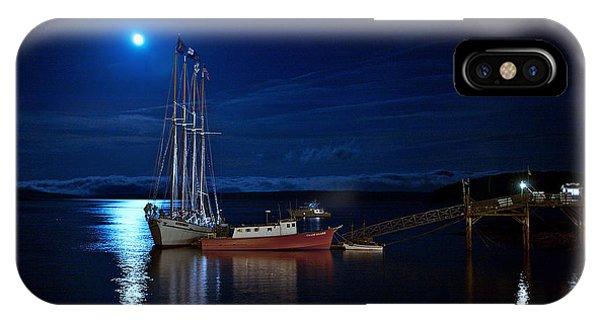Harbor Moon IPhone Case