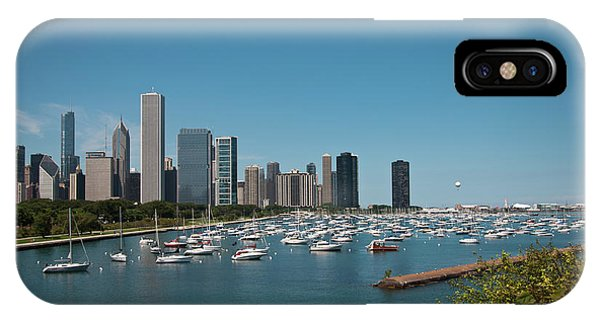 Harbor Parking In Chicago IPhone Case