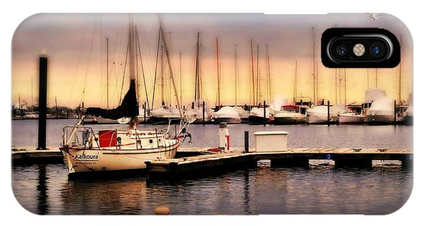 Stamford iPhone Case - Harbor Point Stamford by Diana Angstadt