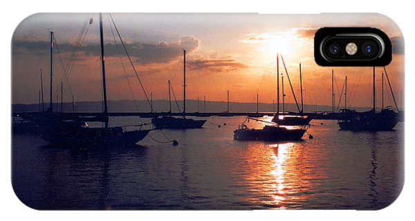 Harbor Sunrise IPhone Case