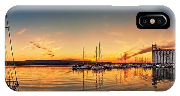Harbour At Sunset IPhone Case