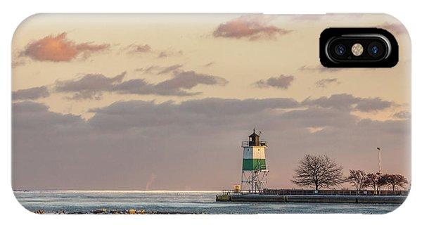 Harbour Sunset IPhone Case