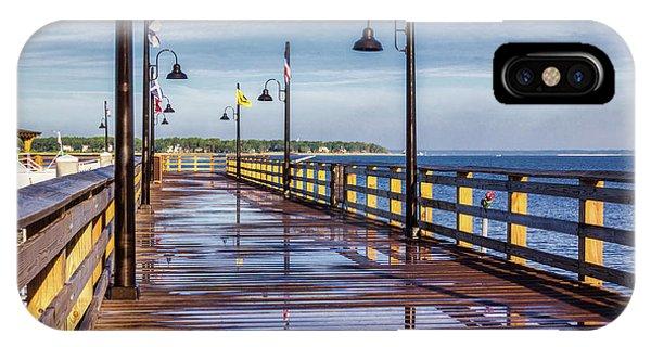 Harbour Town Pier IPhone Case