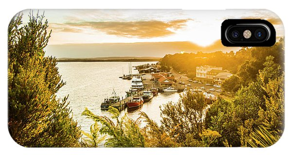 Moor iPhone Case - Harbouring A Colourful Vista by Jorgo Photography - Wall Art Gallery