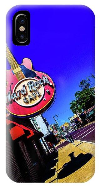 Hard Rockin On Beale IPhone Case