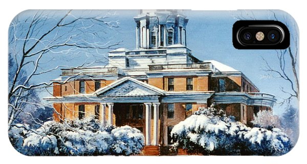 Courthouse iPhone Case - Hardin County Courthouse by Randy Welborn