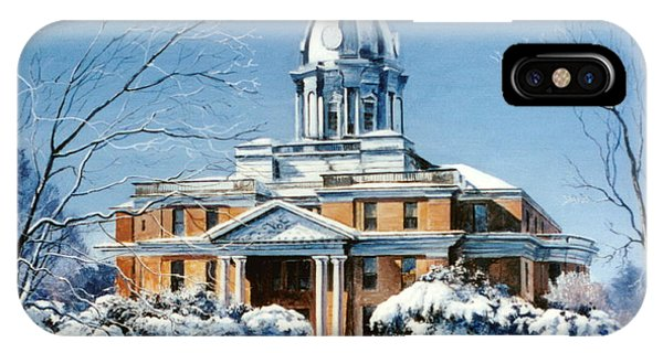 Hardin County Courthouse IPhone Case