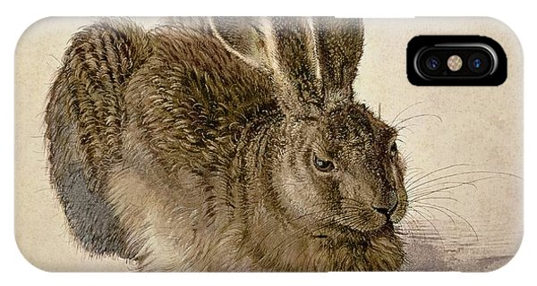 Paper iPhone Case - Hare by Albrecht Durer