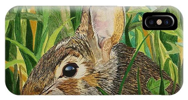 Hare's Breath IPhone Case