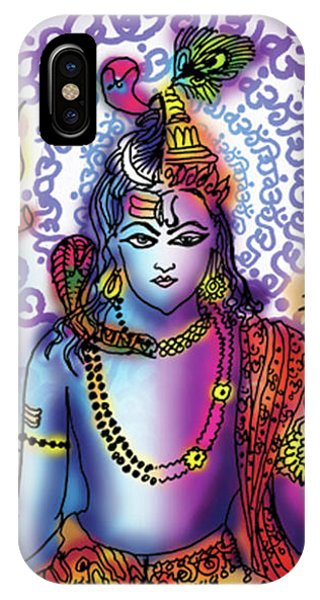 Hari Hara Krishna Vishnu IPhone Case
