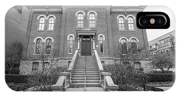 Harker Hall University Of Illinois  IPhone Case