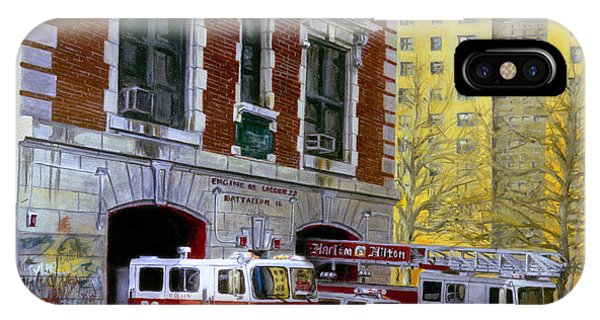 Harlem iPhone Case - Harlem Hilton by Paul Walsh