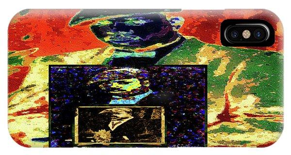 IPhone Case featuring the mixed media Harlem Renaissance Deja Vu Number 1 by Aberjhani