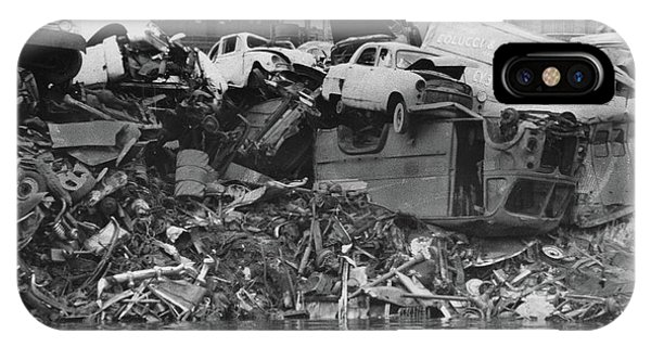 Harlem River Junkyard, 1967 IPhone Case