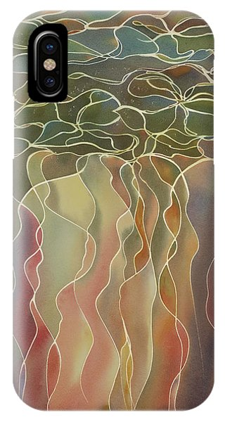Harlequin Water Lillies IPhone Case
