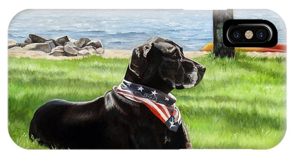Harley At The Beach IPhone Case