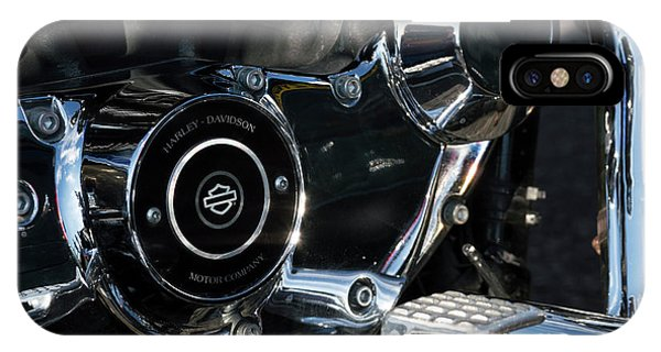 IPhone Case featuring the photograph Harley Davidson 17 by Wendy Wilton