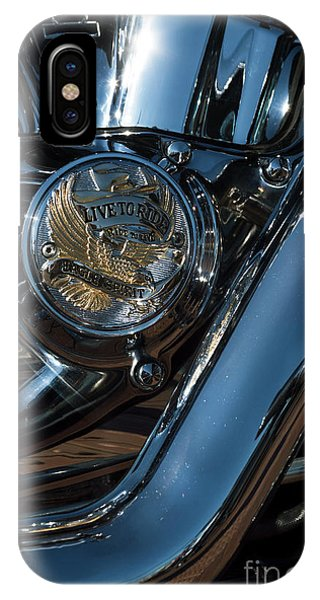 IPhone Case featuring the photograph Harley Davidson 18 by Wendy Wilton