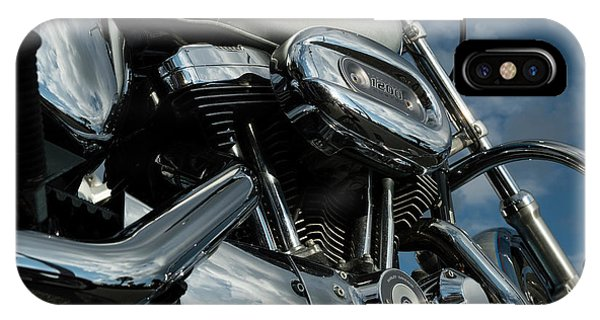 IPhone Case featuring the photograph Harley Davidson 19 by Wendy Wilton