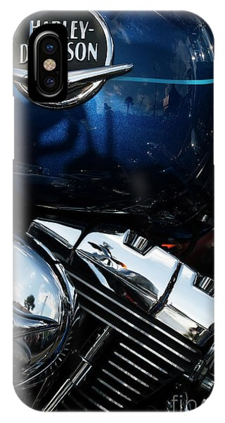 IPhone Case featuring the photograph Harley Davidson 20 by Wendy Wilton