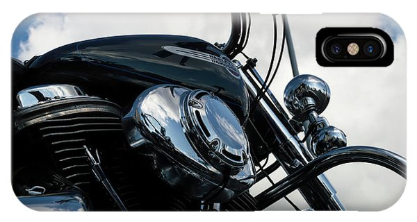 IPhone Case featuring the photograph Harley Davidson 21 by Wendy Wilton