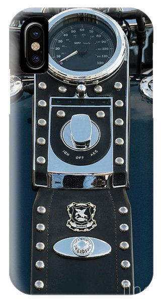 IPhone Case featuring the photograph Harley Davidson 22 by Wendy Wilton