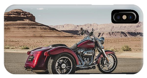 iPhone Case - Harley-davidson Freewheeler by Super Lovely