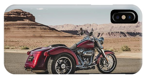 iPhone Case - Harley-davidson Freewheeler by Super Lovely
