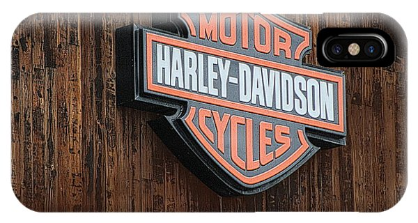 Harley Davidson Sign In West Jordan Utah Photograph IPhone Case