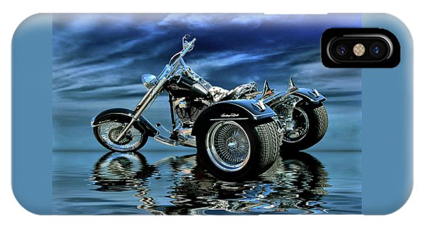Harley Heritage Soft Tail Trike IPhone Case