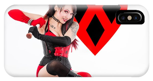 Harley Quinn Ready To Swing IPhone Case