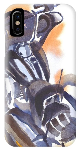 Motorcycle Iv IPhone Case