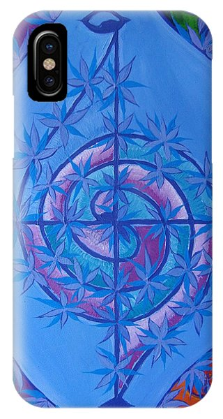 iPhone Case - Harmonious Life Cross by Joanna Pilatowicz