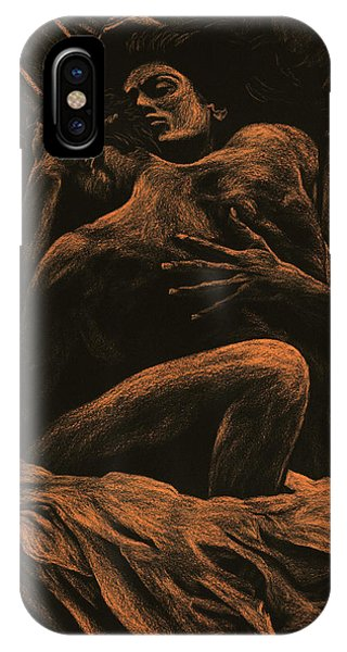 Nudes iPhone X Case - Harmony by Richard Young
