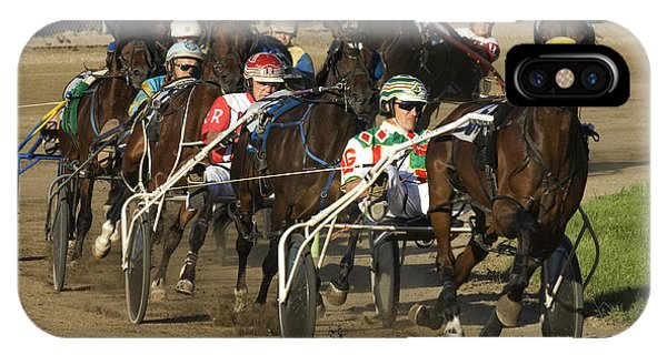 Harness Racing 9 IPhone Case