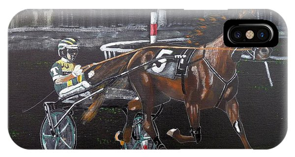 Harness Racing IPhone Case