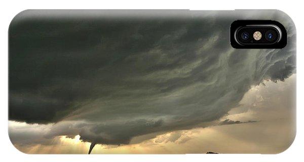 Harper Kansas Tornado IPhone Case