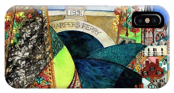 Harpers Ferry Rivers, Railroads, Revolvers IPhone Case