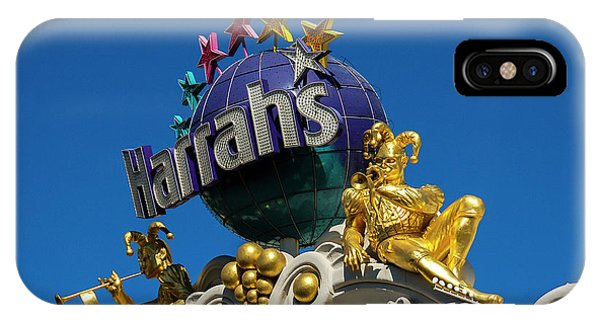 Harrah's Casino Sign On The Las Vegas Strip IPhone Case