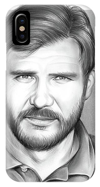 Harrison iPhone Case - Harrison Ford by Greg Joens