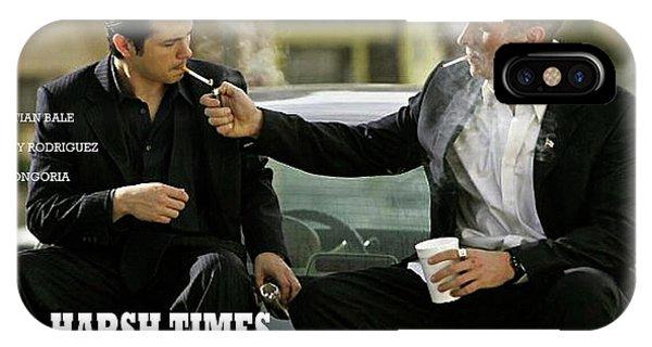 Harsh Times, Starring Christian Bale, Freddy Rodriguez And Eva Longoria IPhone Case