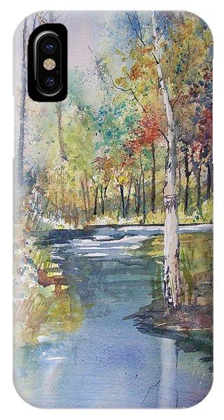 Hartman Creek Birches IPhone Case