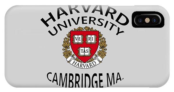 Harvard University Cambridge M A  IPhone Case