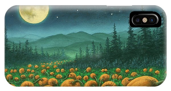 Harvest Moon 01 IPhone Case