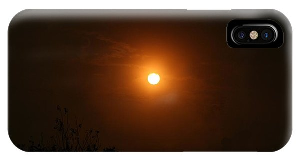 IPhone Case featuring the photograph Harvest Moon by Cynthia Marcopulos
