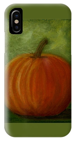 Harvest Moon Pumpkin IPhone Case