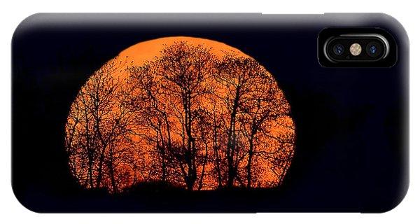 Harvest  Moon Rising IPhone Case